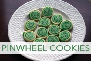 101 Days of Christmas: Holiday Pinwheel Cookies