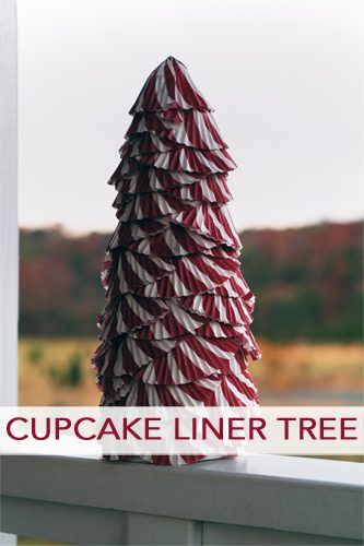 101 Days of Christmas: Cupcake Liner Tree