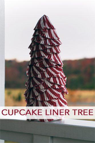 Cupcake Liner Tree