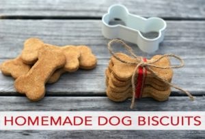 101 Days of Christmas: Homemade Dog Biscuits