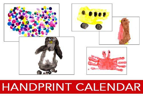 Calendar Ideas For Grandparents : Days of christmas handprint calendar updated life