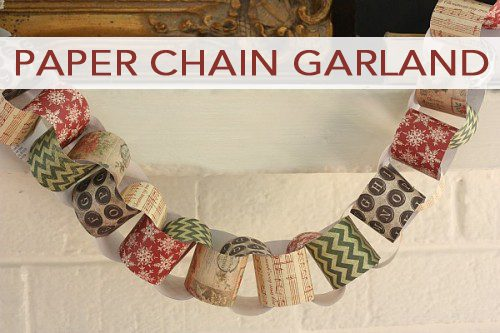 101 days of christmas paper chain garland life your way