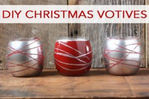 101 Days of Christmas: DIY Christmas Votives