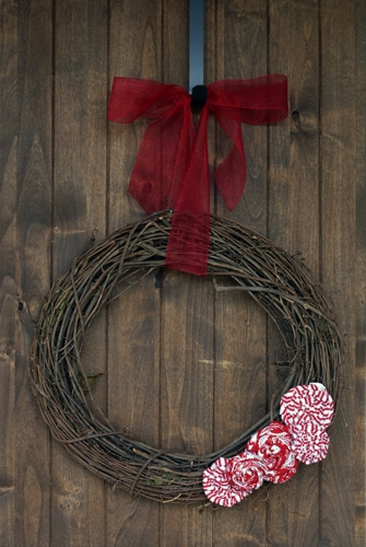 Simple Grapevine Wreath