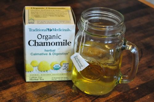 chamomile tea for baby