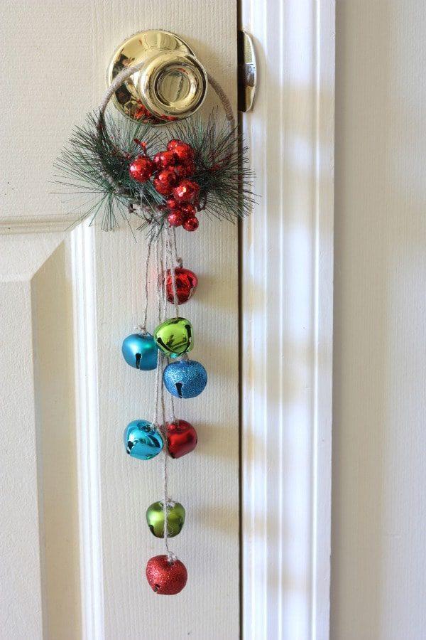 101 days of christmas jingle bell door hanger life your way for Door hanger design ideas