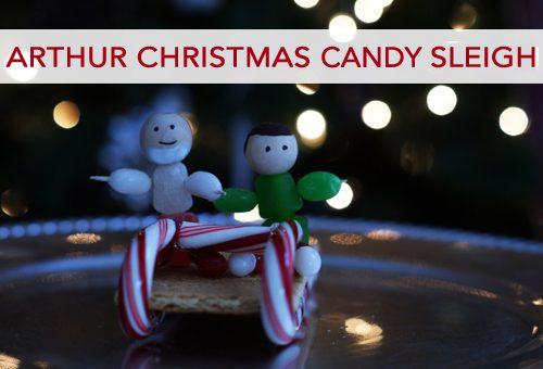 Arthur Christmas Candy Sleigh