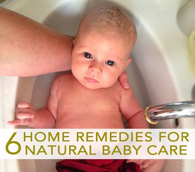 6 home remedies for natural baby care