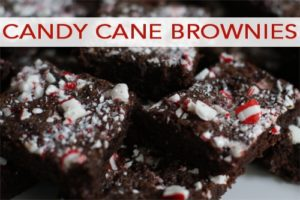 101 Days of Christmas: Candy Cane Brownies