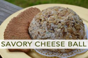 101 Days of Christmas: Savory Cheese Ball