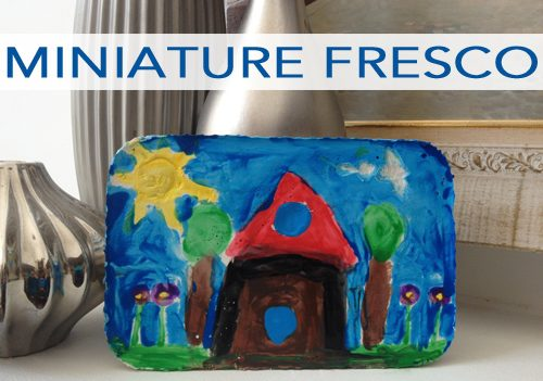 101 Days of Christmas: Miniature Fresco