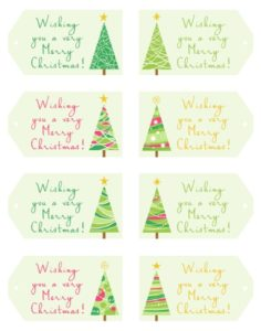 Read more about the article 101 Days of Christmas: Hanging Gift Tags