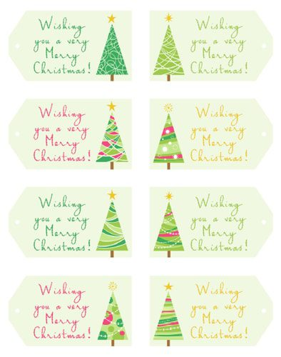 101 Days of Christmas: Hanging Gift Tags