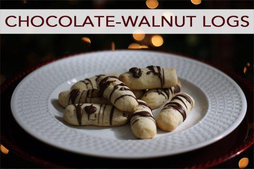 Chocolate-Walnut Logs