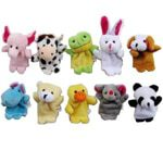 Velvet Animal Style Finger Puppets