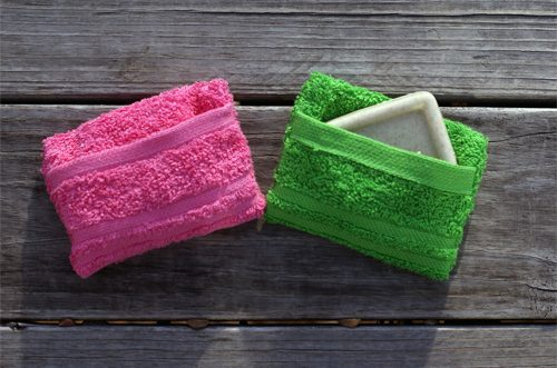 Easy Sew Soap Pockets