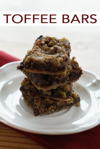 Chocolate-Pecan Toffee Bars