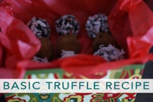 101 Days of Christmas: Basic Truffle Recipe