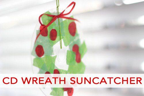 Christmas Wreath Suncatcher