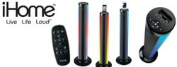 Grateful Giveaways #13: iHome iP76 Color-Changing Speaker Tower