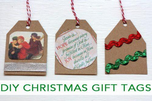 101 Days of Christmas: DIY Christmas Gift Tags