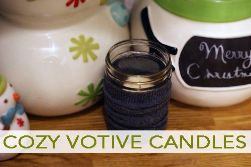 Cozy Votive Candles