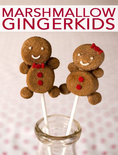 101 Days of Christmas: Marshmallow Gingerkids