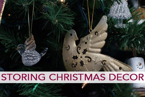 Storing Christmas Decor