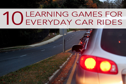 10 Learning Games for Everyday Car Rides