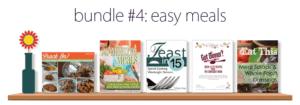 Easy Meals eBook Bundle for Just $7.40 This Week {BundleoftheWeek.com}