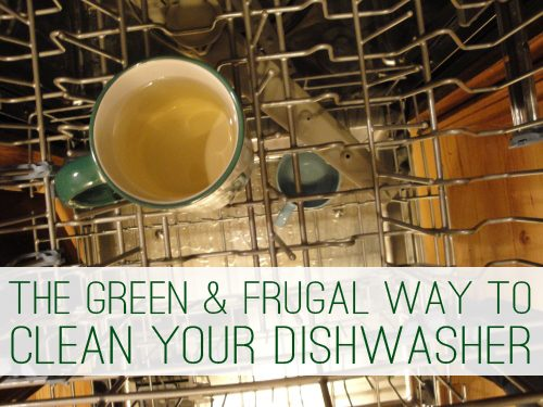 The Green & Frugal Way to Clean Your Dishwasher | lifeyourway.net