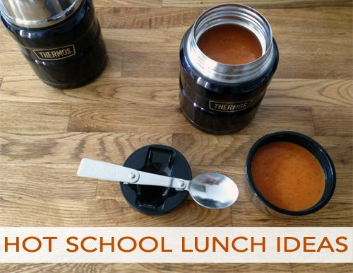 Hot School Lunch Ideas | EasyHomemade.net