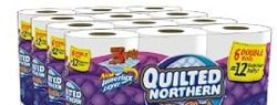 Quilted Northern Ultra Plush Double Rolls $0.45 Each