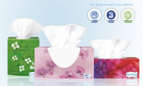 Scotties Facial Tissues