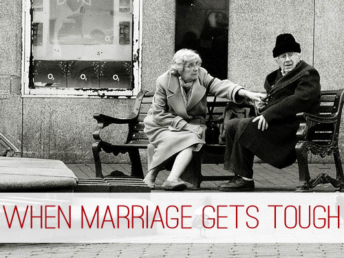 When Marriage Gets Tough at lifeyourway.net