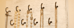 Say Goodbye to Tangled Necklaces with a DIY Jewelry Rack