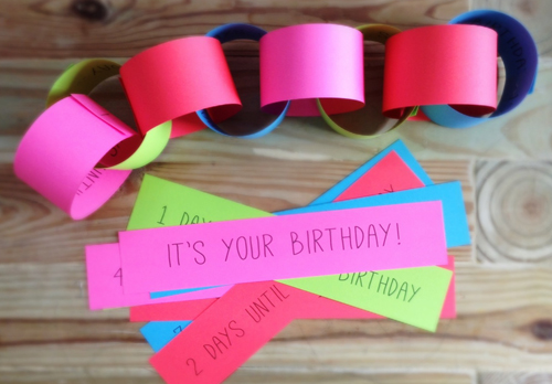 Fun Birthday Traditions & A Printable