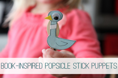 Book Inspired Popsicle Stick Puppets at lifeyourway.net