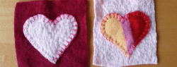 How to Make Coasters Out of Felted Sweaters