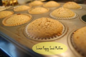 """Read more about the article Lemon Poppy Seed Muffins and """"Healthier"""" Baking Tip"""