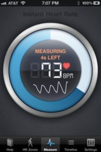 Read more about the article Instant Heart Rate {iOS App of the Week}