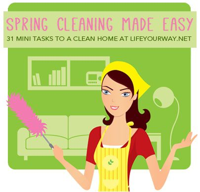 Day 28: Catch Up or Rest! {Spring Cleaning Made Easy}