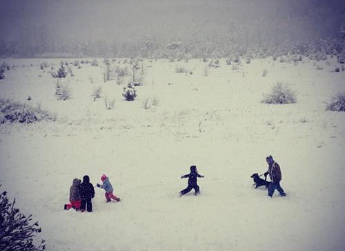 Snowstorm Saturn