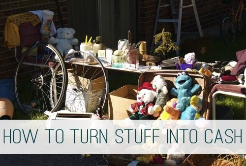 How to Turn Your Excess Stuff Into Extra Cash