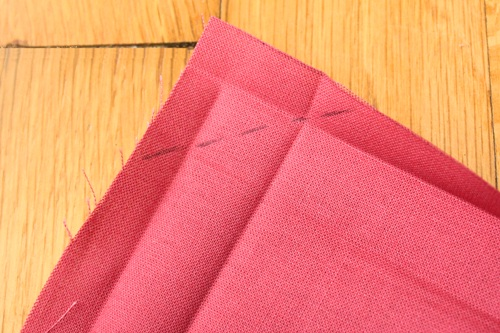 how to make cloth napkins at