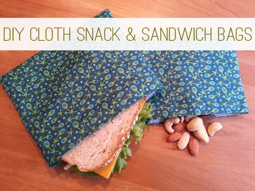 How to Make Reusable Snack & Sandwich Bags at lifeyourway.net