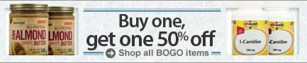 Vitacost BOGO Sale