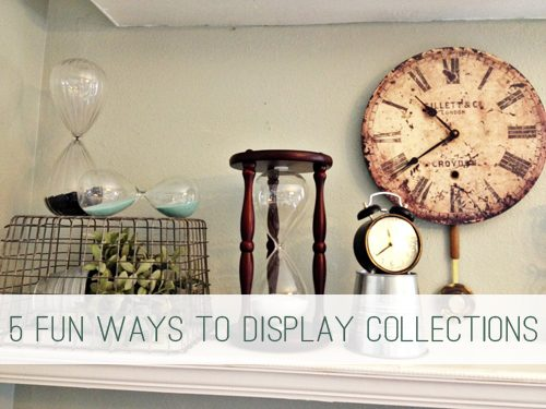 5 Fun Ways to Display Collections at lifeyourway.net
