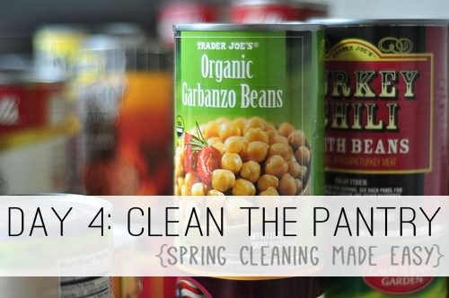 Day 4: Clean the Pantry {Spring Cleaning Made Easy} at lifeyourway.net