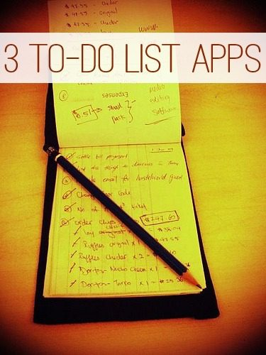 3 To-Do List Apps at lifeyourway.net